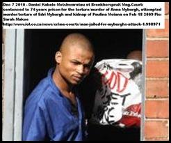 Myburgh Annatjie murderer_torturer Feb182010 Bronkhorstspruit Daniel_Kabelo_Motshwaratau guilty