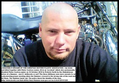 Kruger Johannes 32 KILLED PRETORIA NORTH ON BIKE BY HUMMER ENROUTE TO PRAYER MEETING 16oct2010