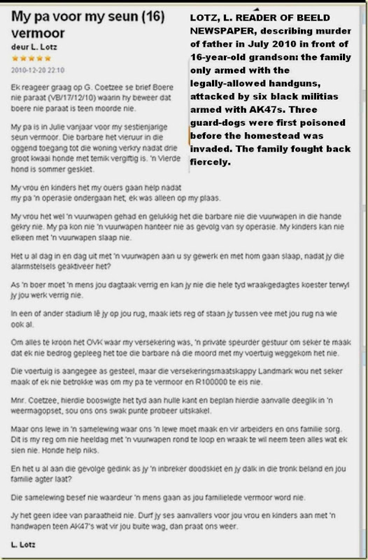 Lotz L farm murder June2010 father murdered in front of 16-y.o. grandson