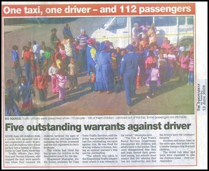 OVERLOAD Taxi_112passengersSA_13Jun2009Independent