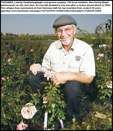 Taschner Ludwig shot badly injured 2008 rose farmer with 130 employees