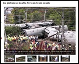 TRANSNET RAILWAY LUXURY TRAIN CRASH PRETORIA APRIL 2010