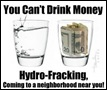 HYDRO FRACKING POLLUTES WATER SUPPLIES ON MASSIVE SCALE SAY OPPONENTS