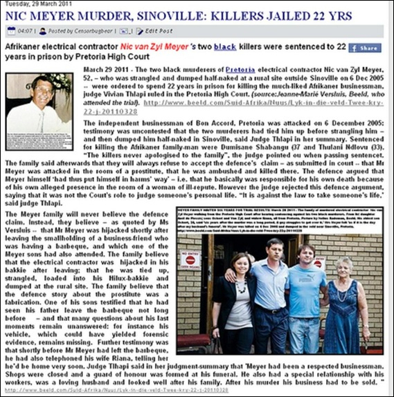 Meyer Nic murder 6Dec2005 two bl killers judged March282011
