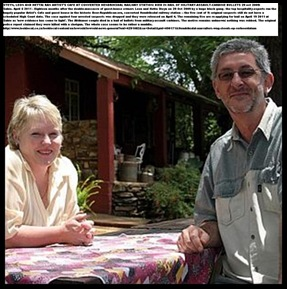 Hetta and Leon Steyn Murdered with R5 military assault weapon ArtistCafeHendriksdalOct292009
