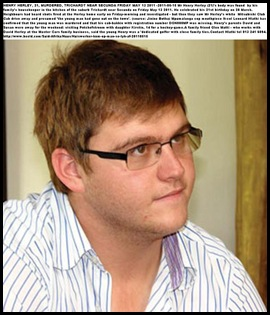 HERLEY Henry 21 murdered in Trichardt Secunda FriMay132011