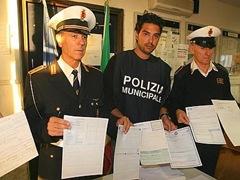 gruppo VIII polizia municipale