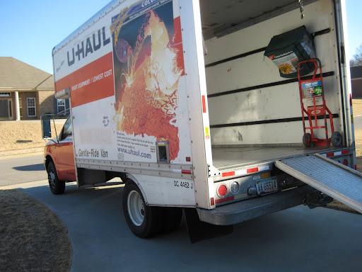 U-Haul Truck. Nice V-10 under the hood!