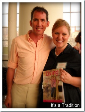 Kevin Sharkey at Martha Stewart BlogHer