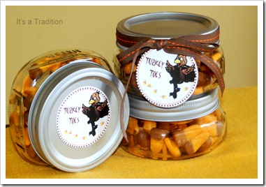 Thanksgiving Party Favor Turkey Toes 2
