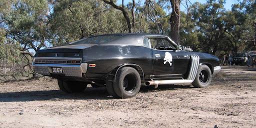 Něco pro fans US CARS Rear