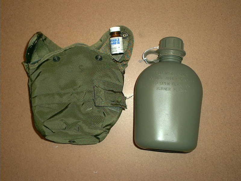 acc MS0001 Military Surplus Military Canteen