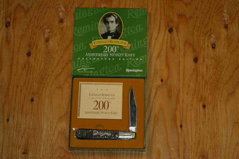 knv K6 Remington Remington 200th Anniversary Musket Knife