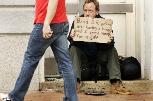 美国乞丐要饭的水准3