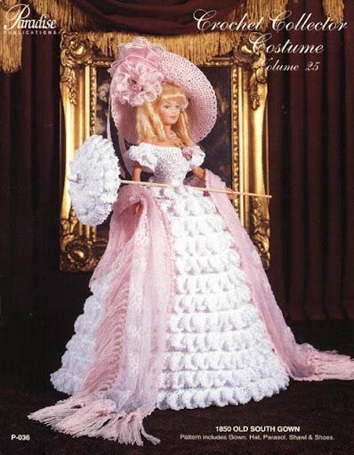 Исторические наряды для куклы