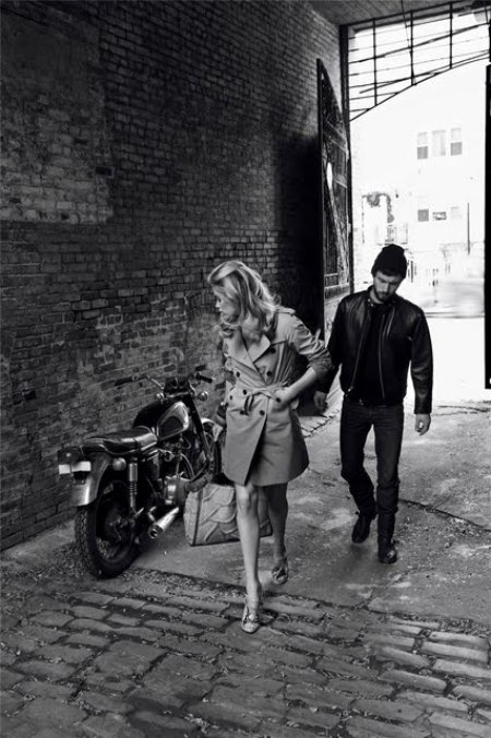 doutzen by carter smith motorcycle