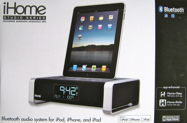 iHome iA100 Bluetooth Audio System
