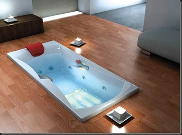 installing-bathtub