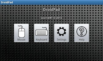 Screenshot of DroidPad