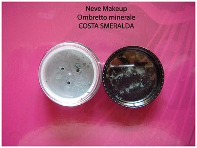 Neve Makeup: Ombretto minerale COSTA SMERALDA
