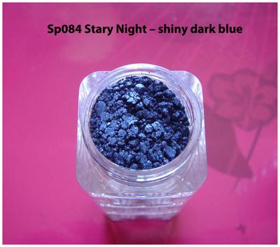 Sp084 Stary Night - shiny dark blue