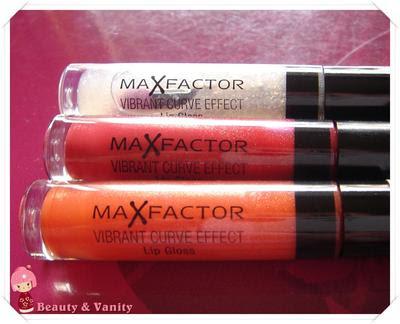 Max Factor Vibrant Curve Effect Lip Gloss