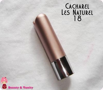 CACHAREL LES NATURELS 18 (ROSE FRAMBOIS)