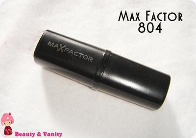 MAX FACTOR 804 (HIT OF RED)