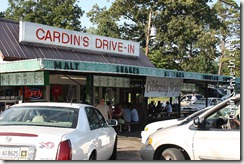 Cardin's drive in
