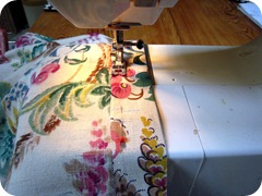 Sew top for dowel