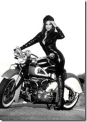 MotorcycleGirlIndian