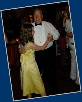 Grandpa and Briana Dancing