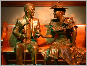 Roy Acuff and Minnie Pearl