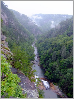 The Grand Chasm at Tallulah Gorge