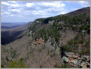 Right Ridge of Cloudland Canyon