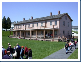 Barracks At Fort Mackinaw