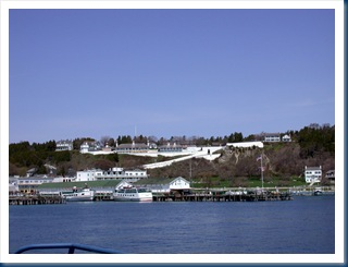 Fort Mackinaw As Seen From The Ferry