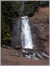 Lac Le Belle Falls