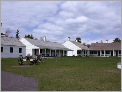 Quadrangle At Fort Wilkins