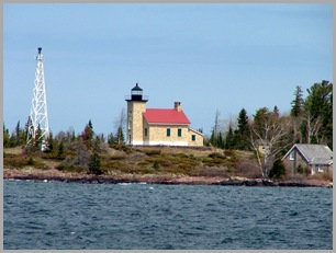 Copper Harbor Lighthouse - Zoomed In