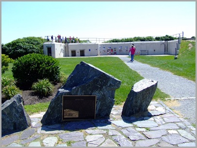 Remnants Of The Blair Battery at Fort Williams