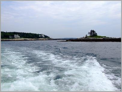 Looking Back at Ocean Harbor