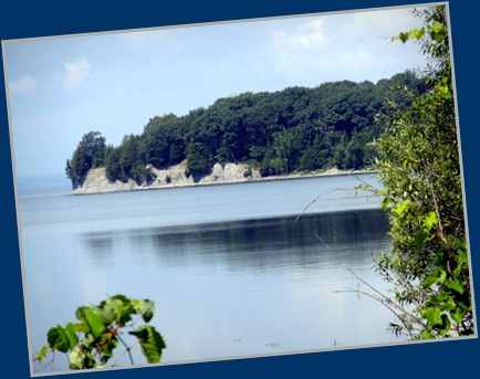 An Island in Lake Champlain