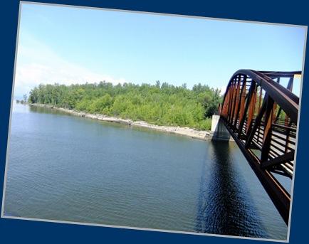 The Bridge Over Winooski River