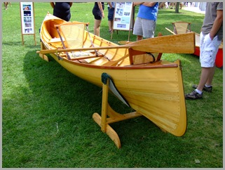 Authentic Adirondack Guide Boat Beautifully Hand Crafted