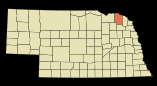 250px-Cedar_County_Nebraska_Incorporated_and_Unincorporated_areas_St__Helena_Highlighted_svg