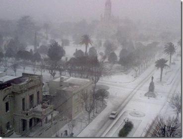 Buenos Aires snowstorm