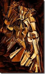 Nude Descending a Staircase No. 2-Marcel Duchamp