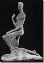 Kneeling Woman (Femme á genoux)1911 Wilhelm Lehmbruck