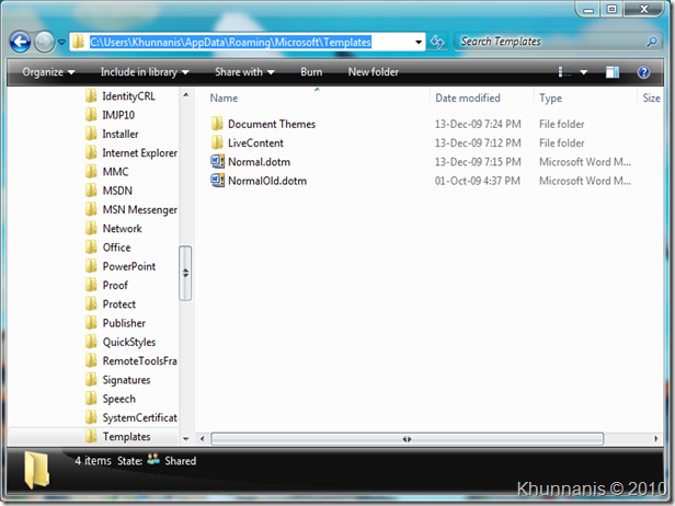 Windows Explorer 7